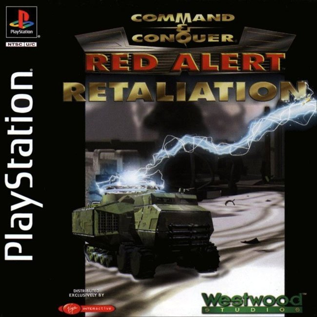Command & Conquer - Red Alert Rataliation (2 DISCS)