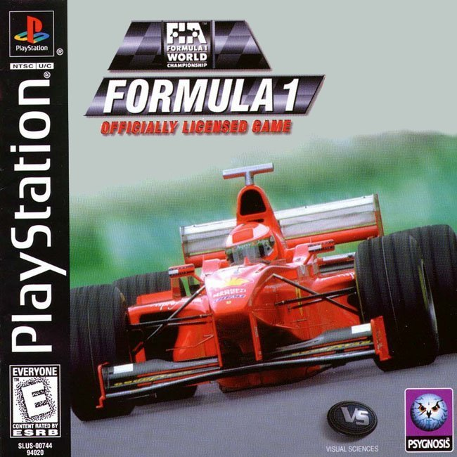 F1 - FORMULA 1 Officially Licensed Game