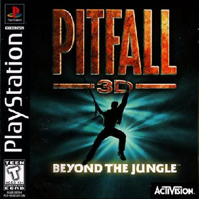 PITFALL 3D BEYOND JUNGLE