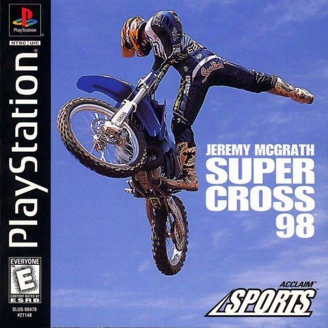 RAPID RACERJEREMY MCGRATH SUPER CROSS 98