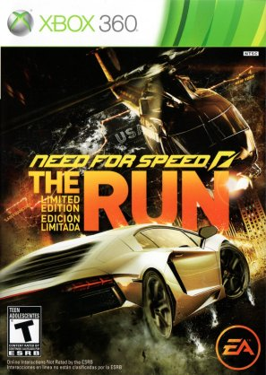 NFS - Need For Speed The Run USA Limited Edition