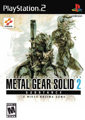 Metal Gear Solid 2 Substance [1xDVD5]