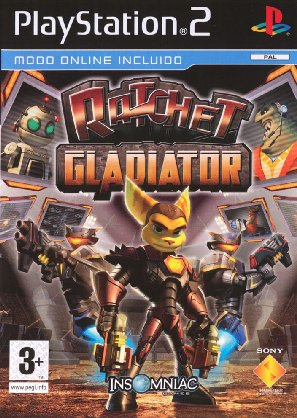 Ratchet and Clank Gladiator (MULTI5-IGUAL R.C.DEADLOCKED)
