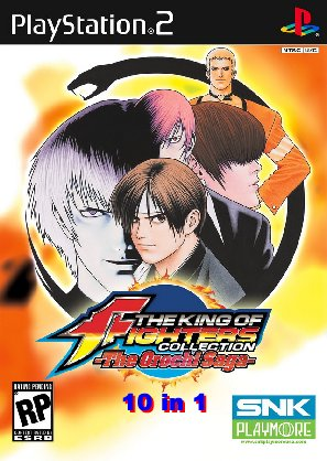 The King of Fighters KOF Collection (10 in1 - todos KOF)